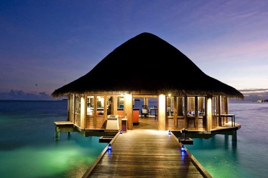 Angsana Velavaru resort Maldive Funa esterno
