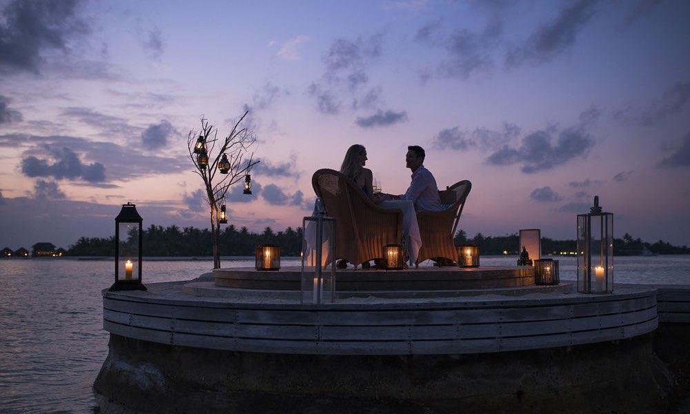 Anantara Naladhu resort Maldive cena privata