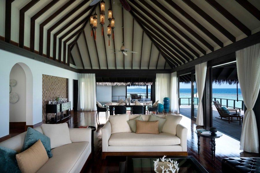 Anantara Kihavah Villas resort Maldive 2 bedroom overwater pool residence