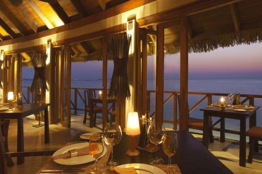 Anantara Veli Resort Maldive ristorante Terrazzo cucina italiana