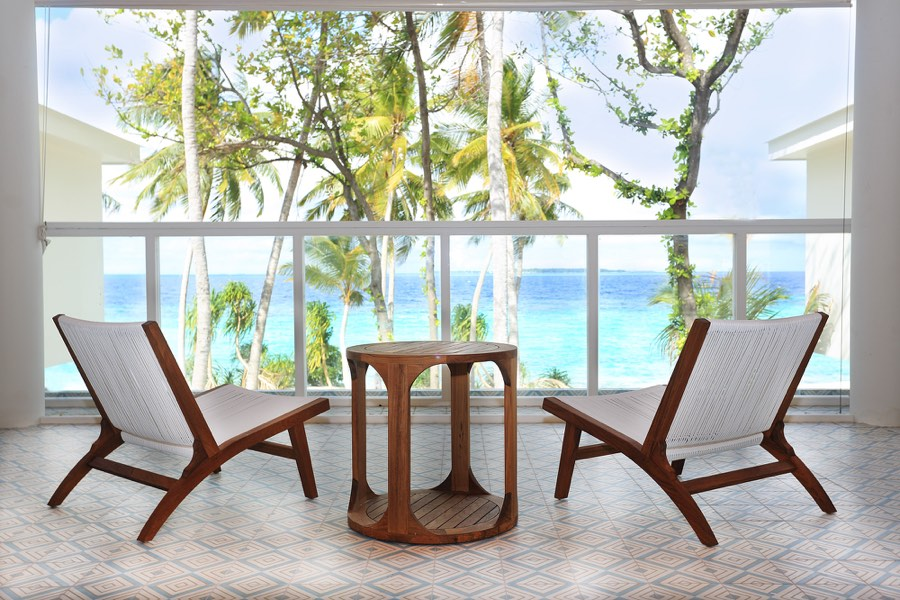 Amilla Fushi resort maldive four bedroom villa residence
