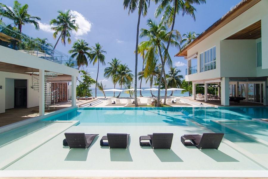 Amilla Fushi resort maldive villa estate
