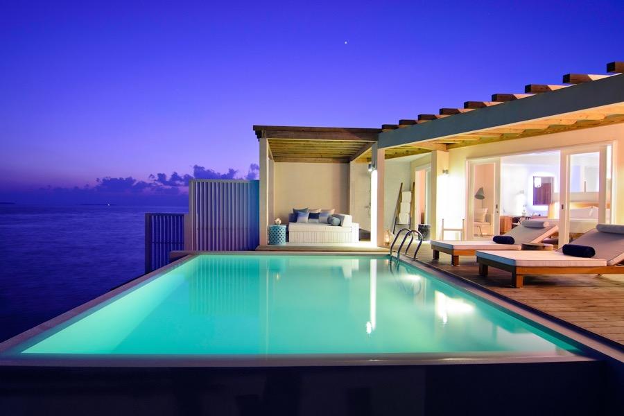 Amilla Fushi resort maldive ocean reef house