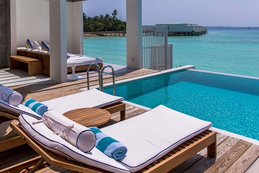 Amilla Fushi resort maldive ocean lagoon house