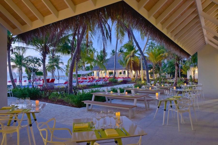Resort Maldive Kandima Ristorante Flavou or Zest