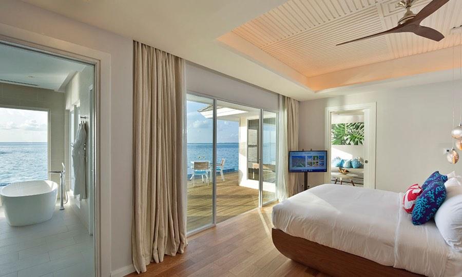 Resort Maldive Kandima Honeymoon Aqua Villa