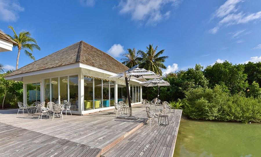 Resort Maldive Kandima  Bar Aroma