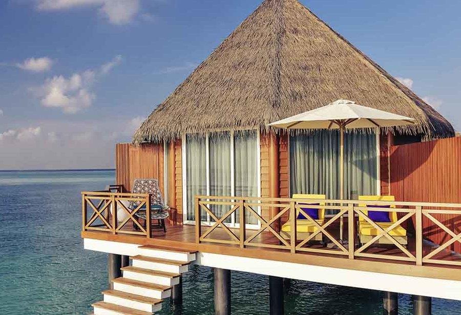 Resort Maldive Mercure Over Water Sunset Villa
