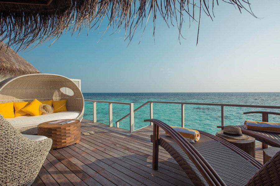 Resort Maldive Drift Thelu Water Villa