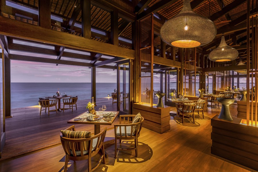 Resort Maldive Kudadoo Ristorante