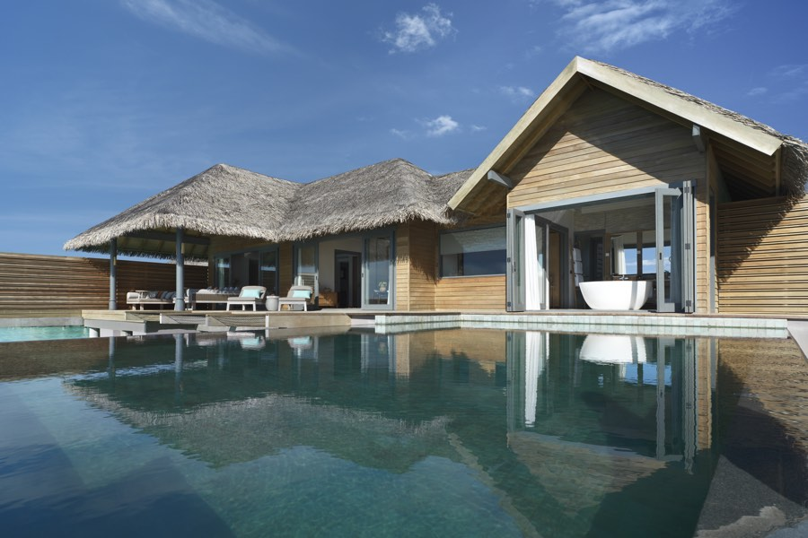 Resort Maldive Vakkaru Over Water Pool Suite