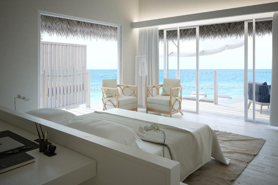 Resort Maldive Baglioni Resort  Sunset Water Villa