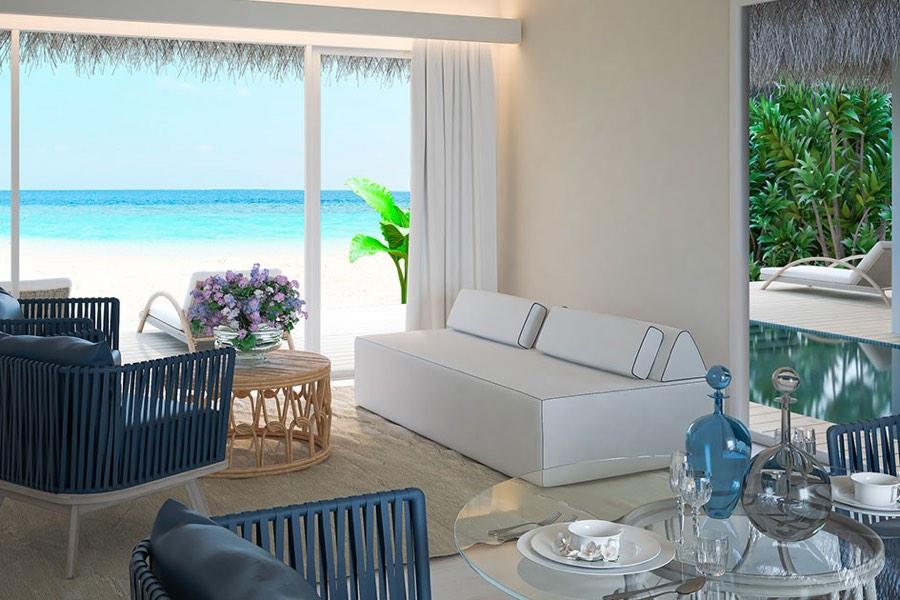 Resort Maldive Baglioni Pool Suite Beach Villa