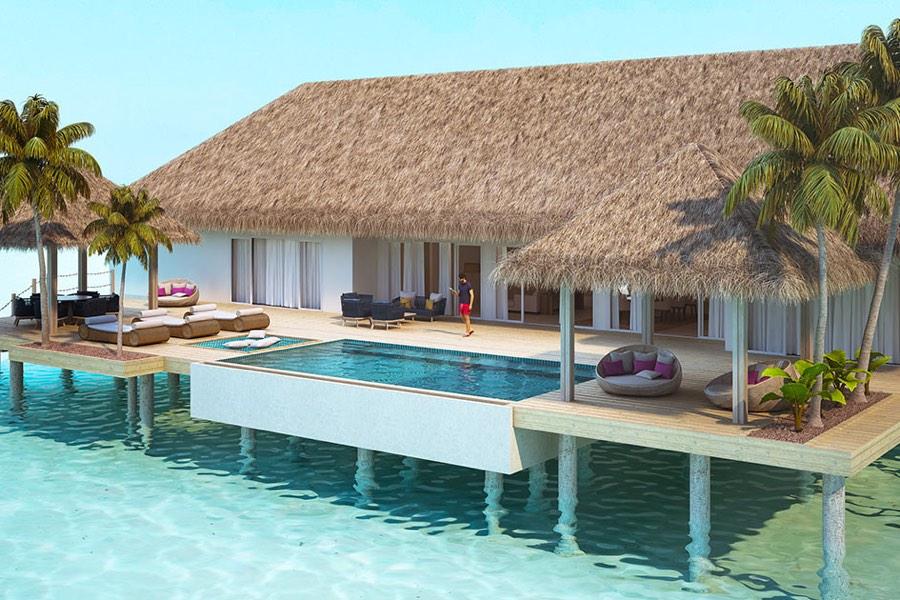 Resort Maldive Baglioni Presidential Water Villa