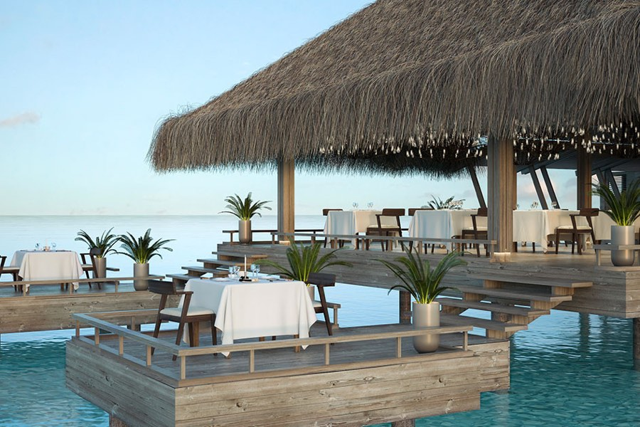 Resort Maldive Baglioni Pool Bar & Grill