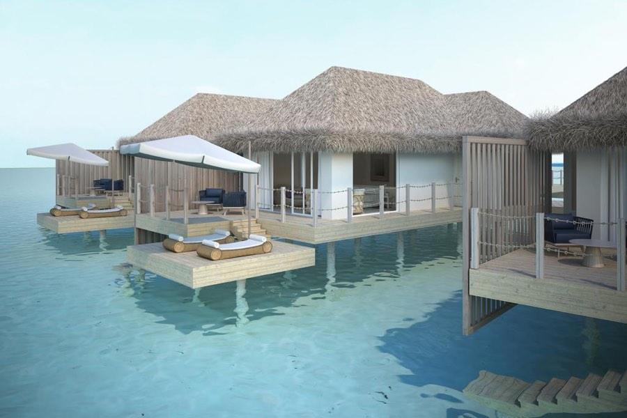Resort Maldive Baglioni Water Villa