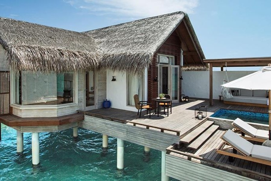 Resort Maldive Fairmont Water Sunrise Villa