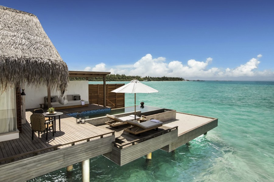 Resort Maldive Fairmont Two Bedroom Water Sunrise Villa