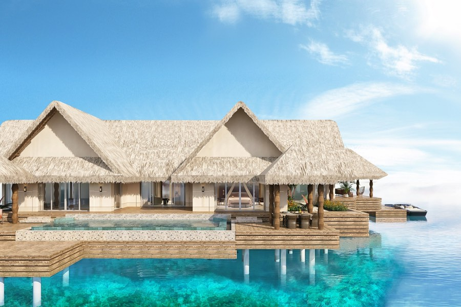 Resort Maldive Joali Luxury Water Villa with Pool