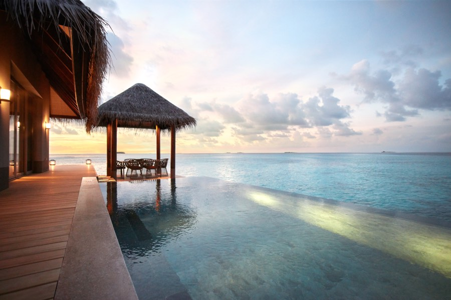Resort Maldive Joali Three Bedroom Residence with 2 Pool