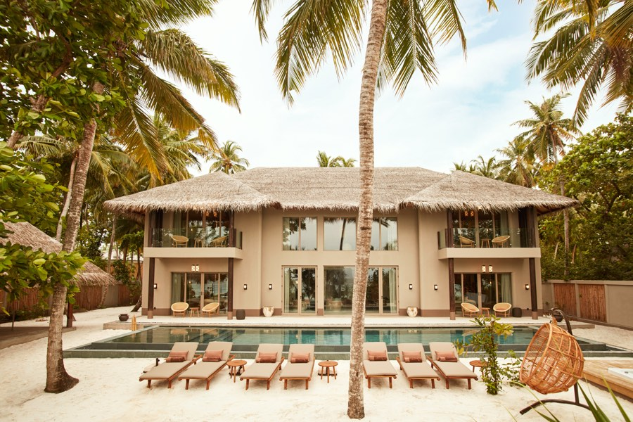 Resort Maldive Joali Four Bedroom Beach  Residence