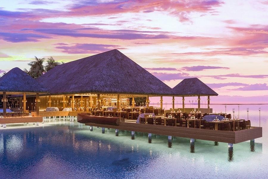 Resort Maldive Joali Ristorante Saoke