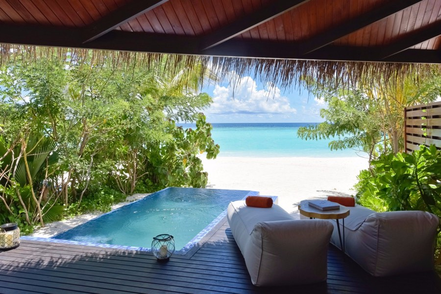 Resort Maldive Grand Park Kodhipparu Beach Villa
