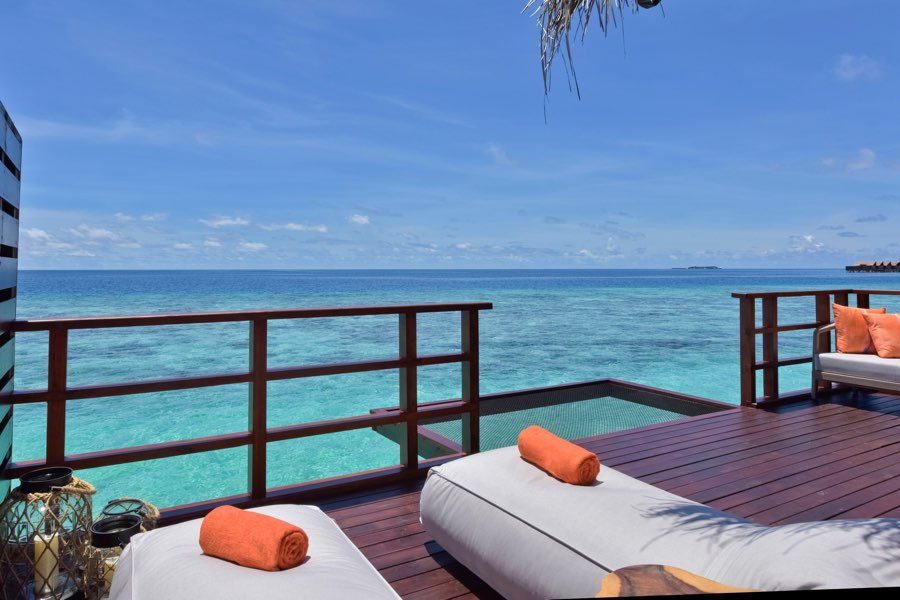 Resort Maldive Grand Park Kodhipparu ocean water Villa