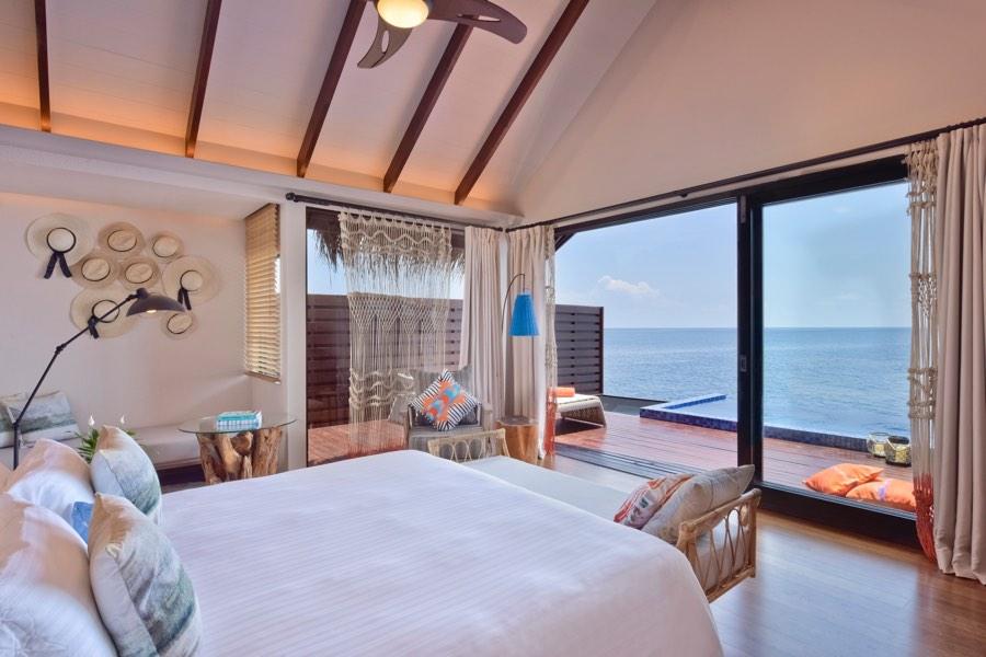Resort Maldive Grand Park Kodhipparu ocean pool water Villa