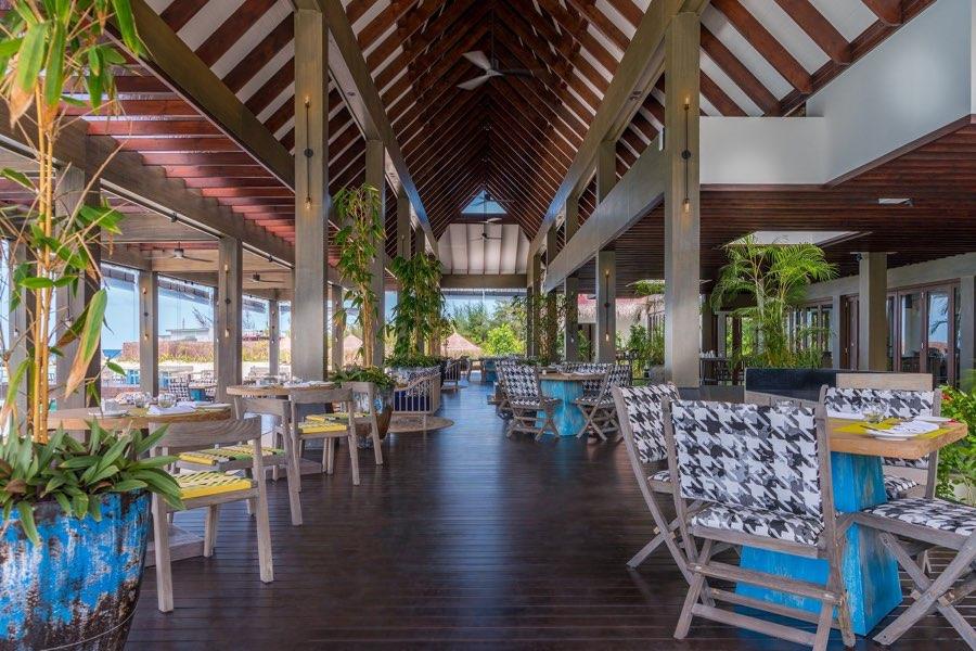 Resort Maldive Grand Park Kodhipparu ristorante The Edge