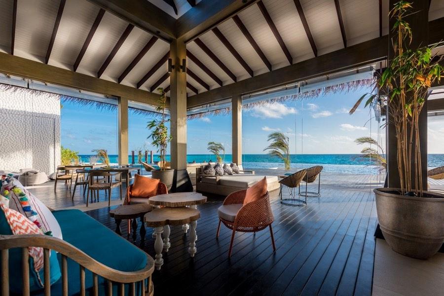 Resort Maldive Grand Park Kodhipparu ristorante Breeze