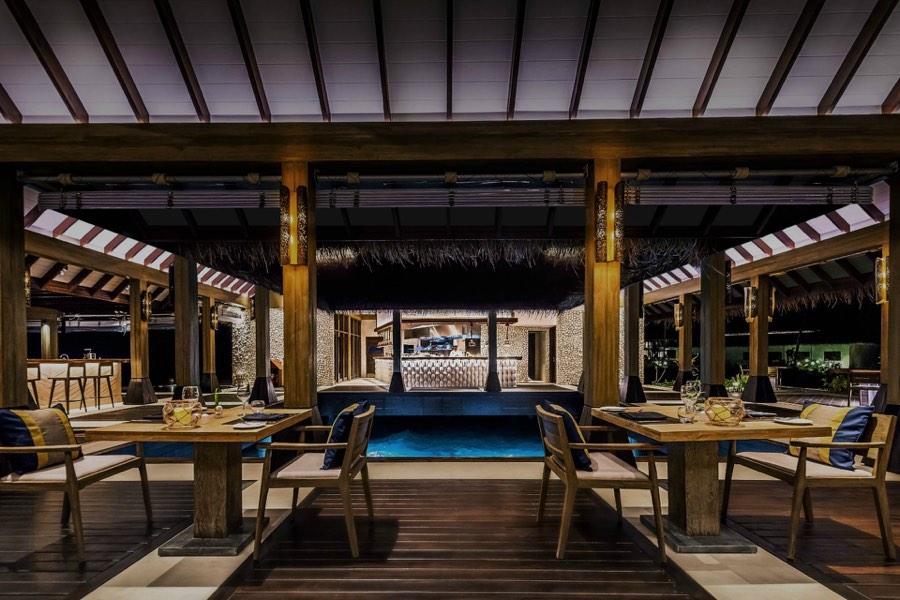 Resort Maldive Grand Park Kodhipparu ristorante Fredoor