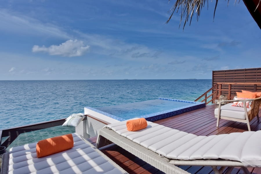 Resort Maldive Grand Park Kodhipparu Lagoon pool water Villa