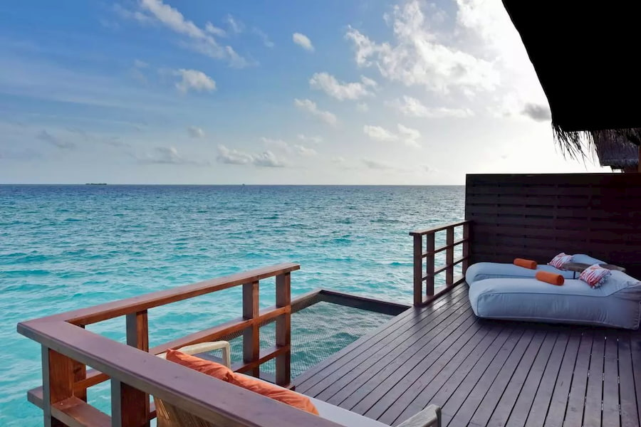 Resort Maldive Grand Park Kodhipparu Lagoon water Villa