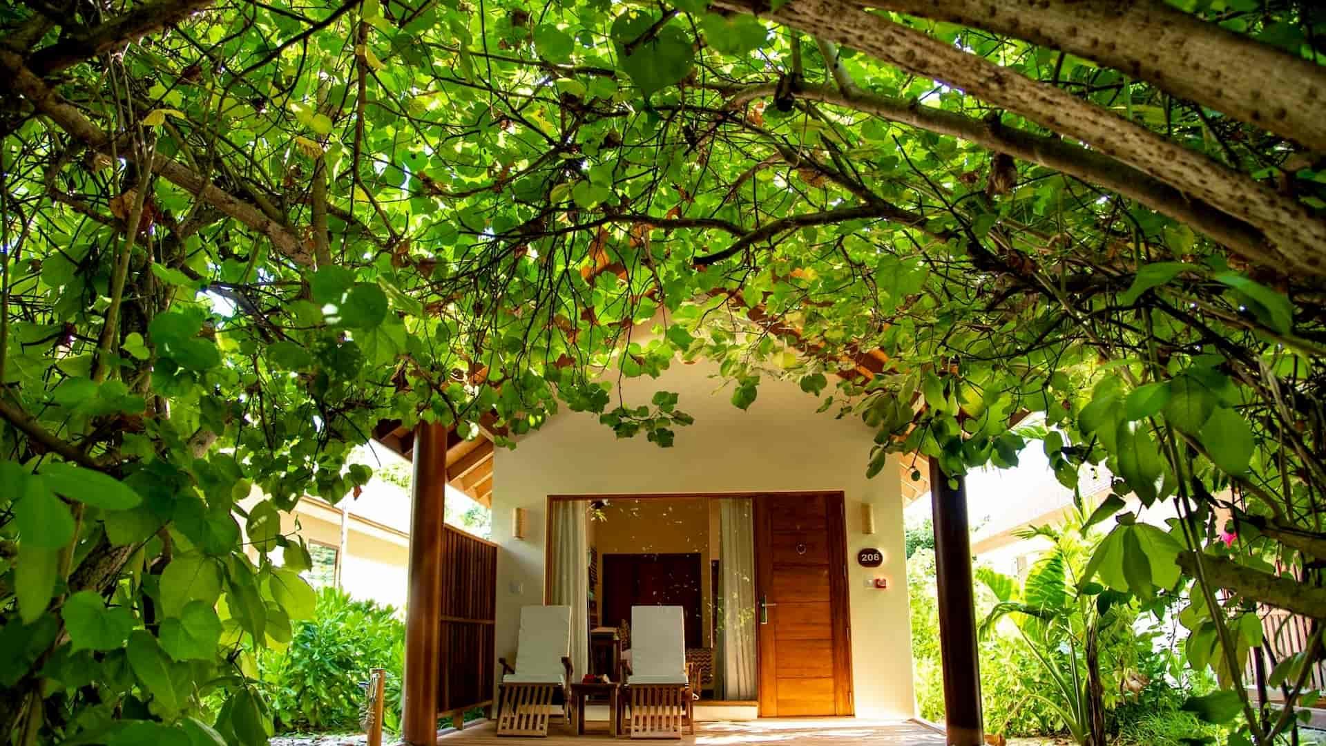 Resort Maldive Reethi Faru Garden Villa