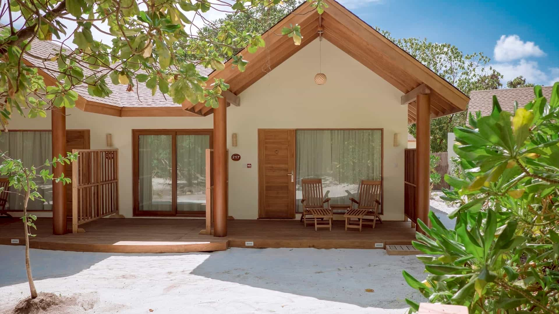 Resort Maldive Reethi Faru two bedroom garden suite