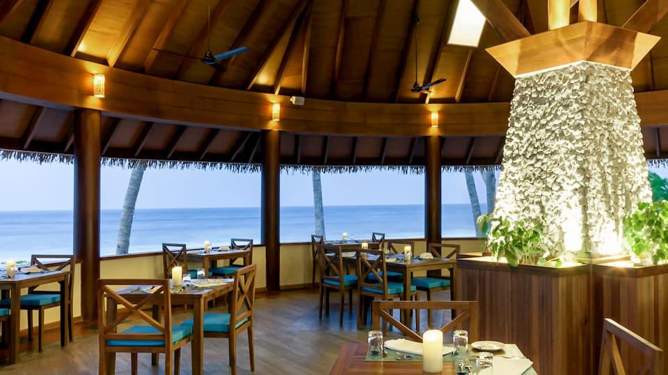 Resort Maldive Reethi Faru Vakaru Ristorante