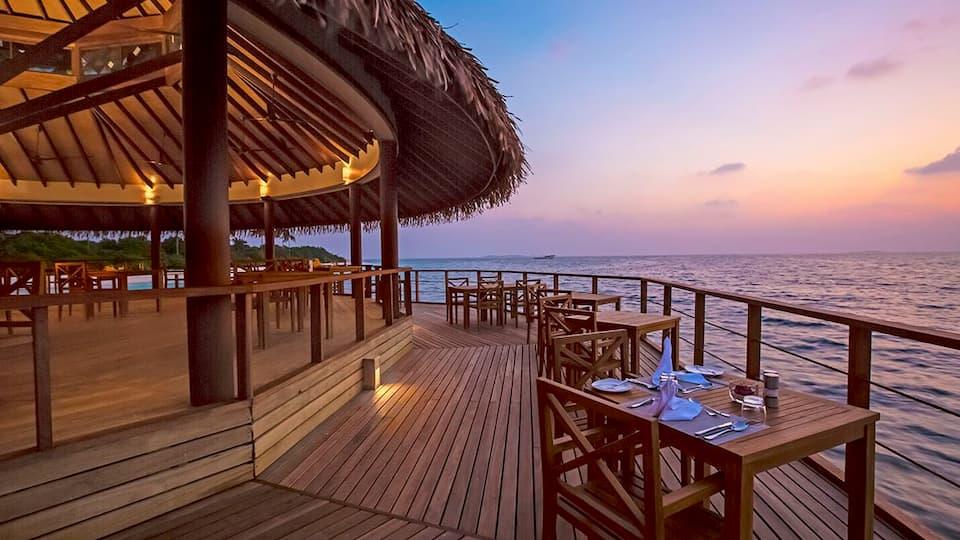 Resort Maldive  Reethi Faru Ristorante Dhiyavaru