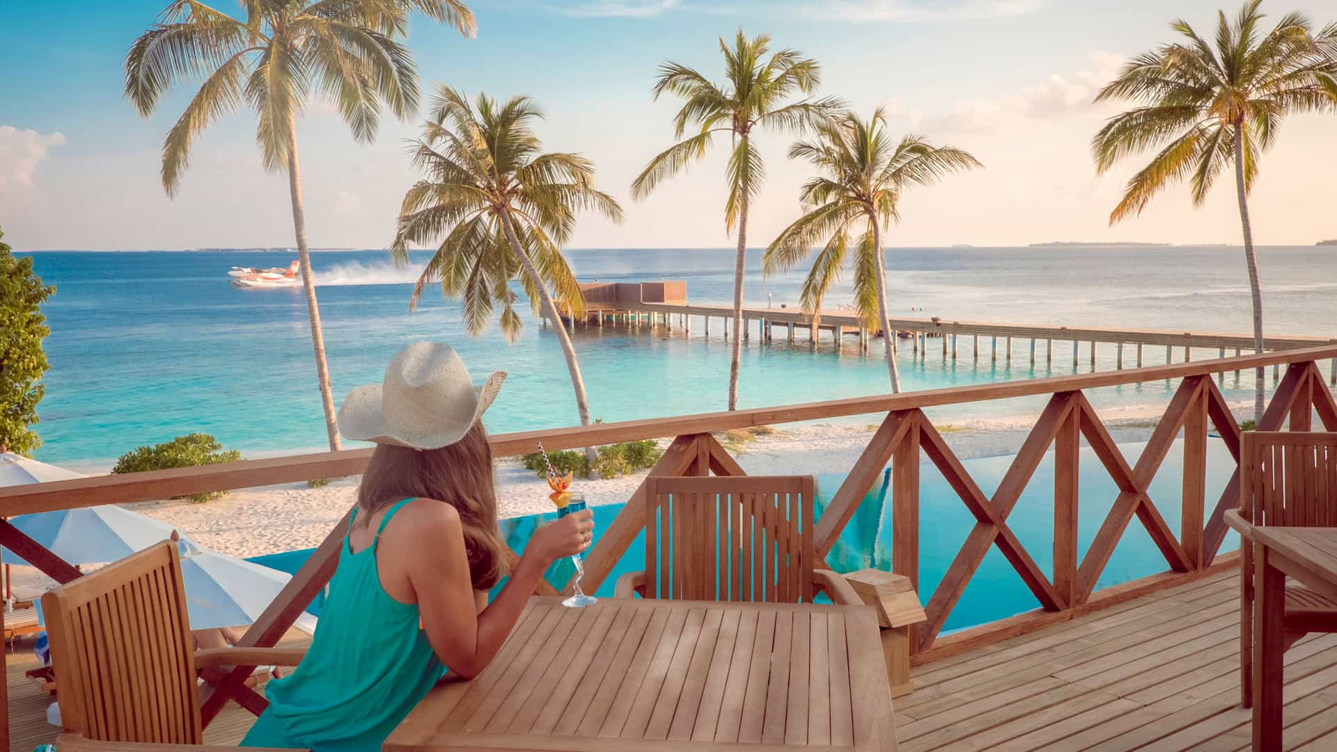 Resort Maldive Reethi Faru Veyo Bar