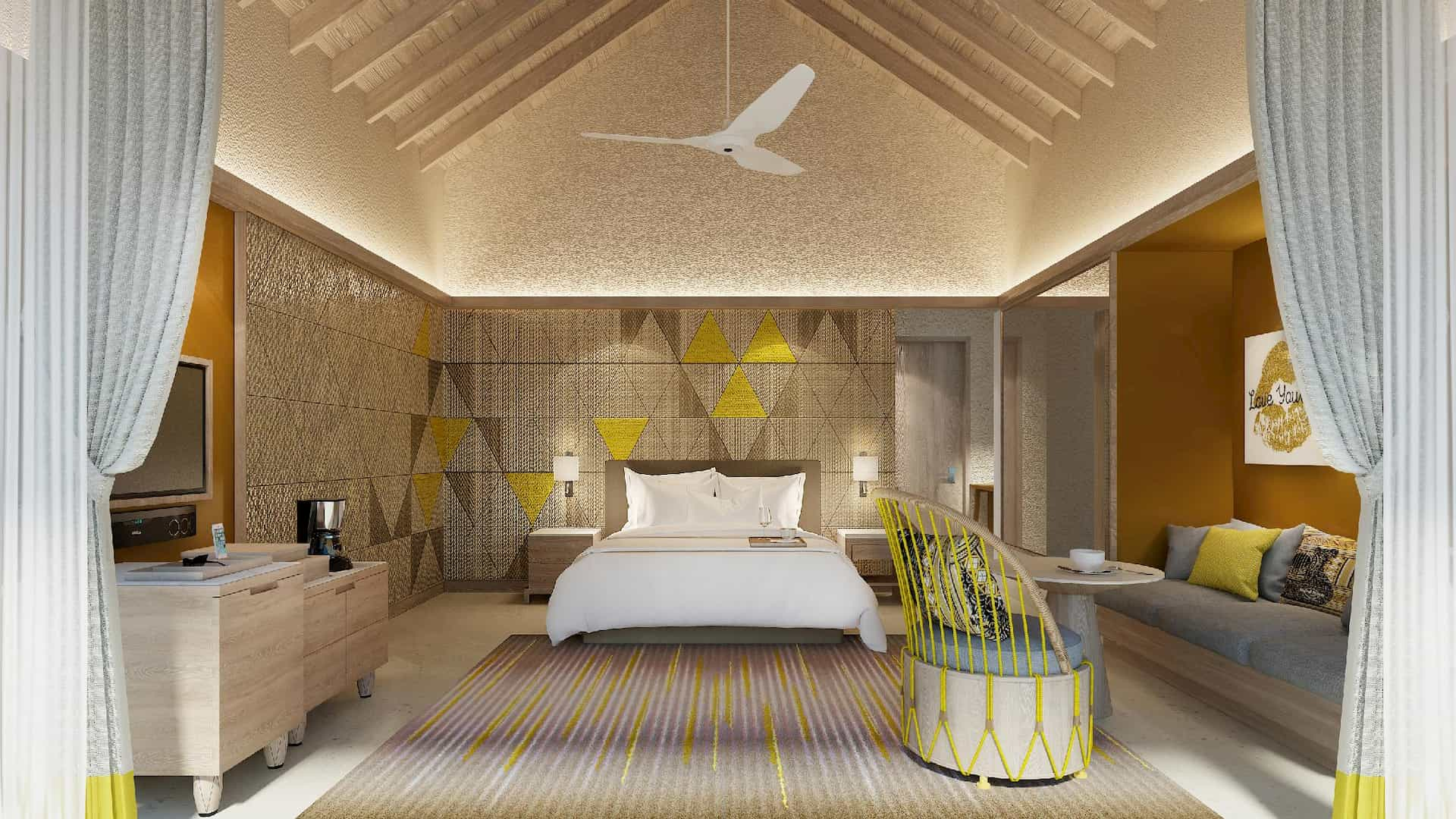 Resort Maldive Hard Rock platinum overwater villa