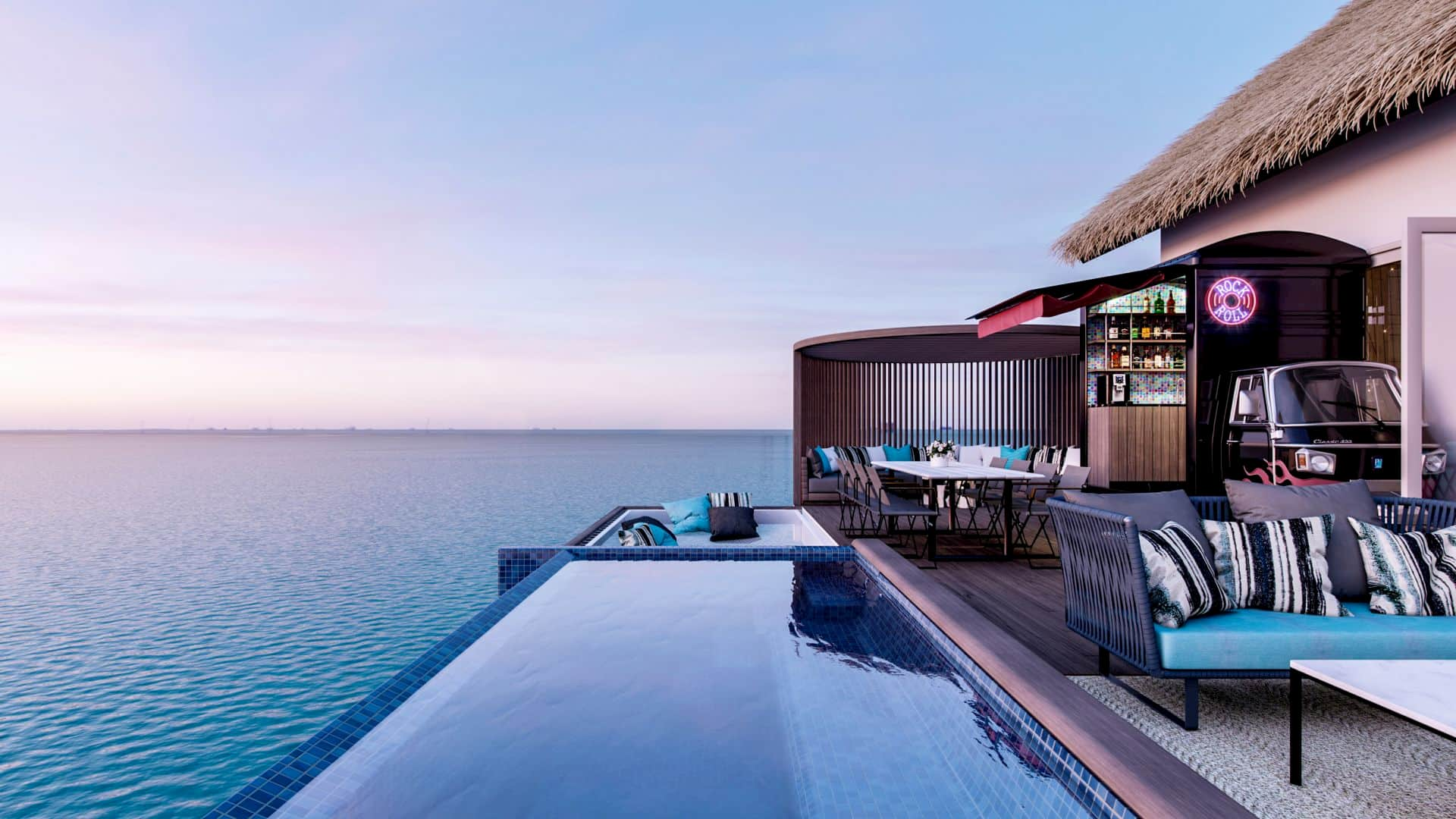 Resort Maldive Hard Rock rocky star villa