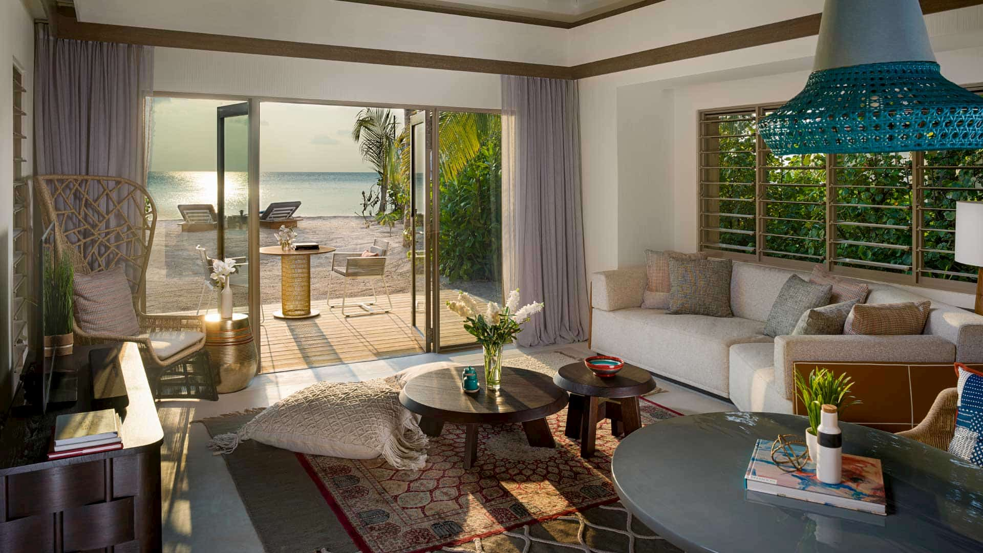 Resort Maldive Intercontinental Maamunga beach villa