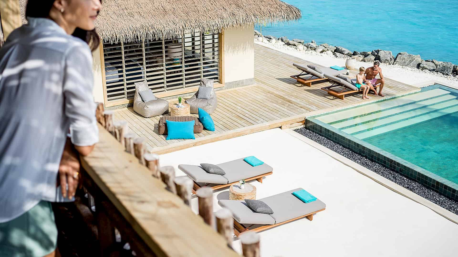 Resort Maldive Intercontinental Maamunga lagoon residence