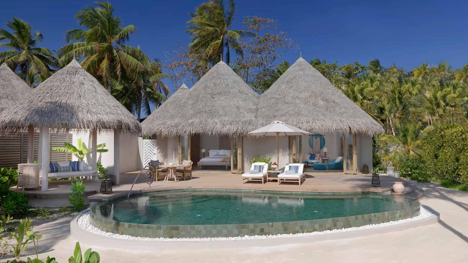 Resort Maldive The Nautilus Maldives beach villa