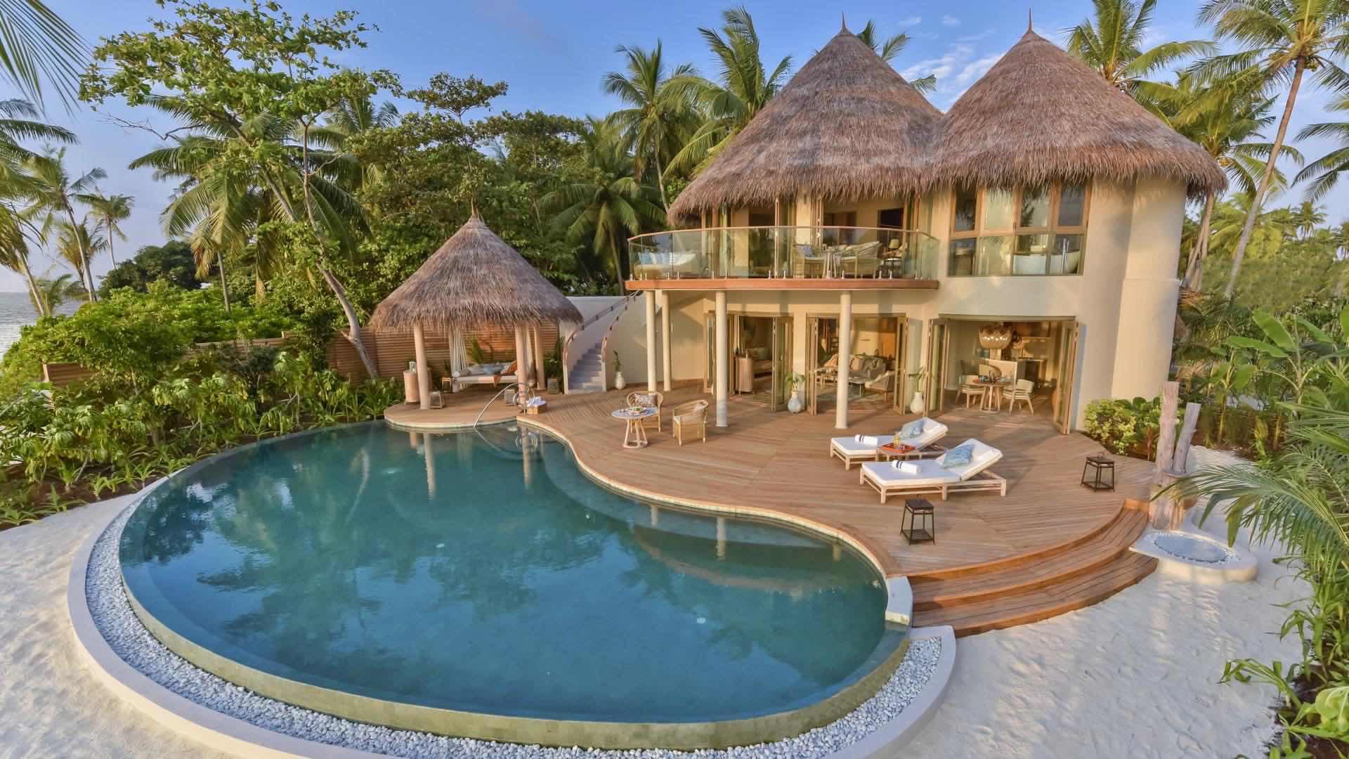 Resort Maldive The Nautilus Maldive beach villa