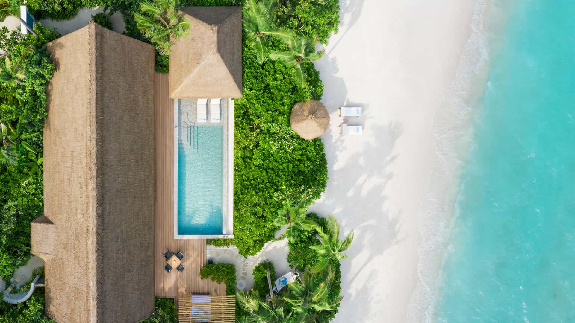 Resort Maldive Waldorf Astoria Maldives beach villa