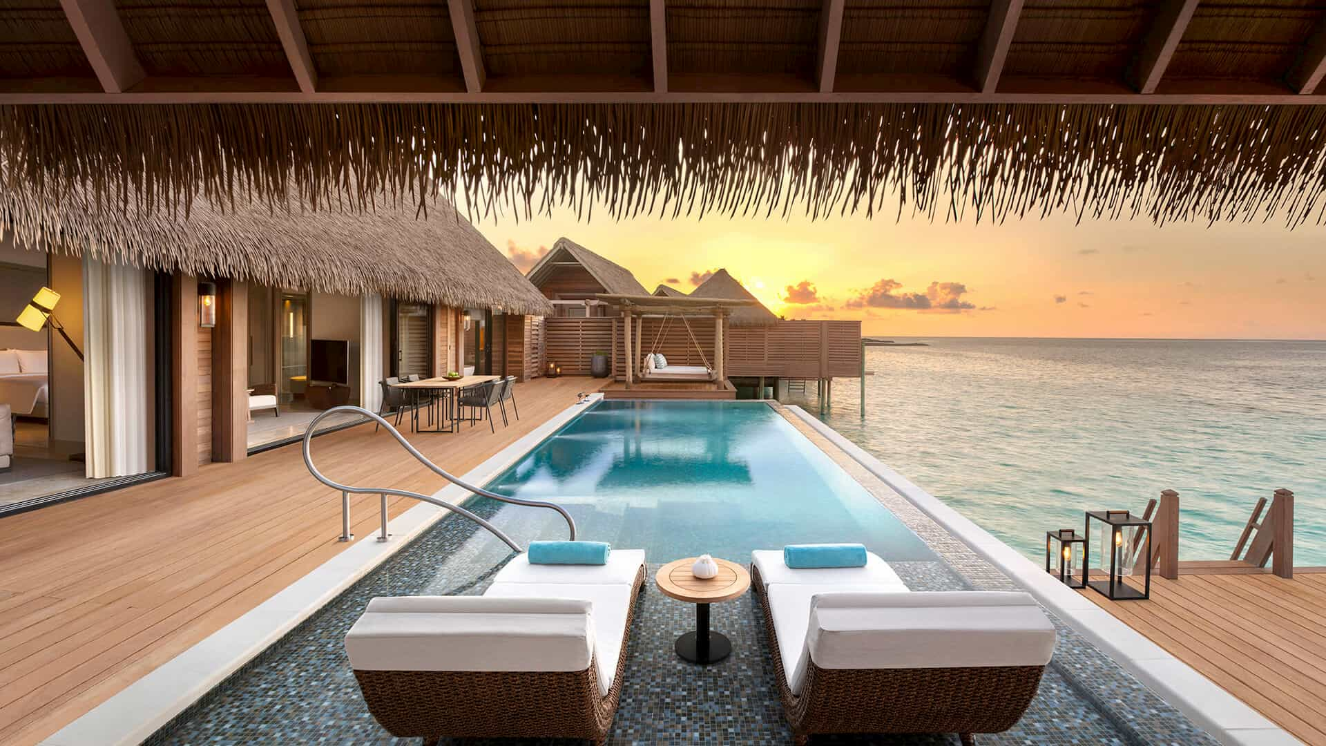 Resort Maldive Waldorf Astoria Maldives grand overwater  villa