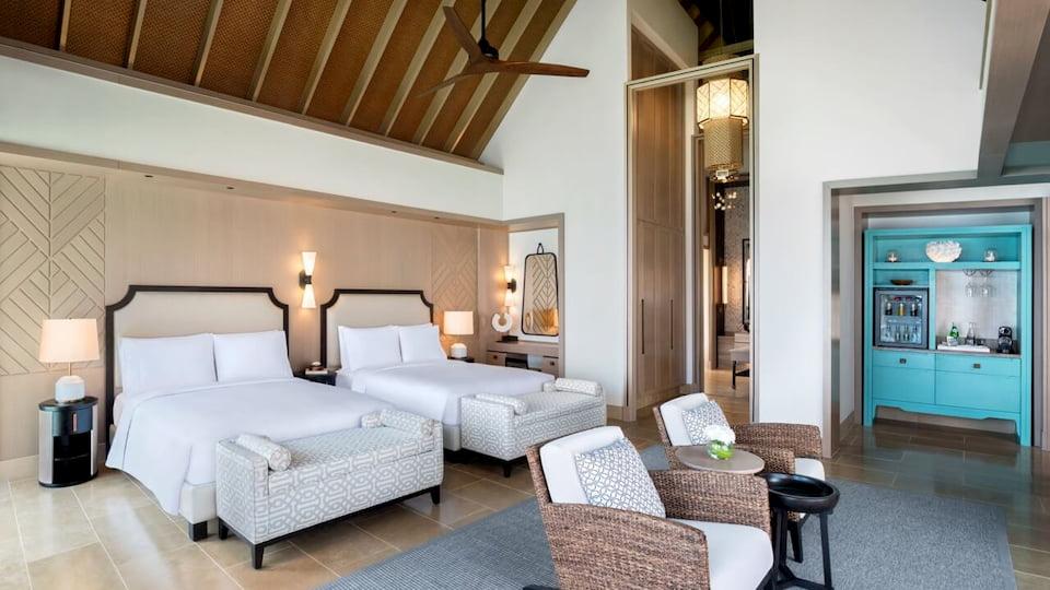 Resort Maldive Waldorf Astoria Maldives overwater villa