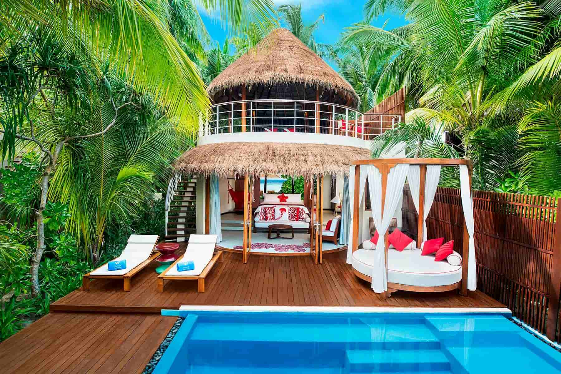 Resort Maldive W Maldives beach oasis