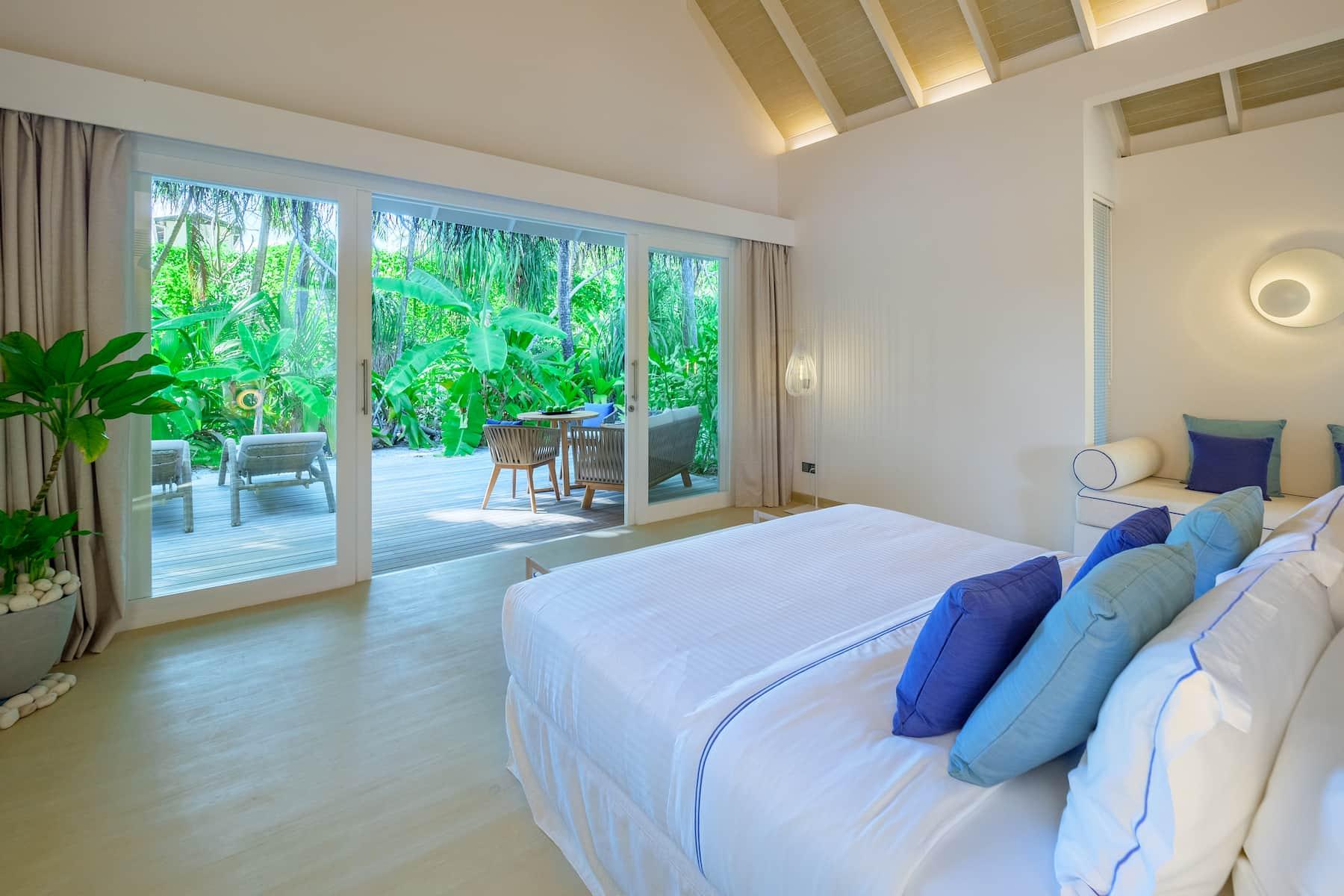Resort Maldive Baglioni Resort garden villa
